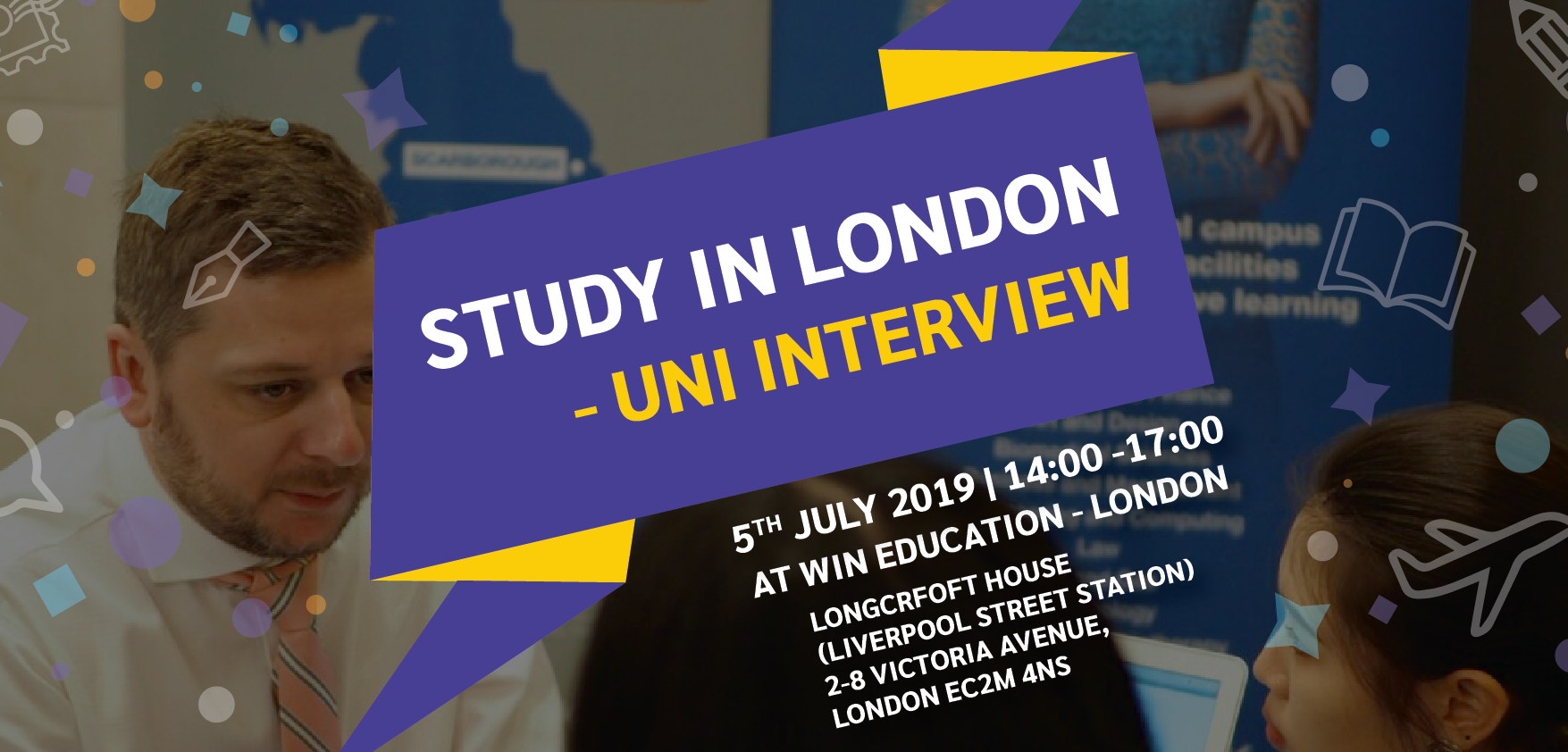 Study in London – Uni Interview