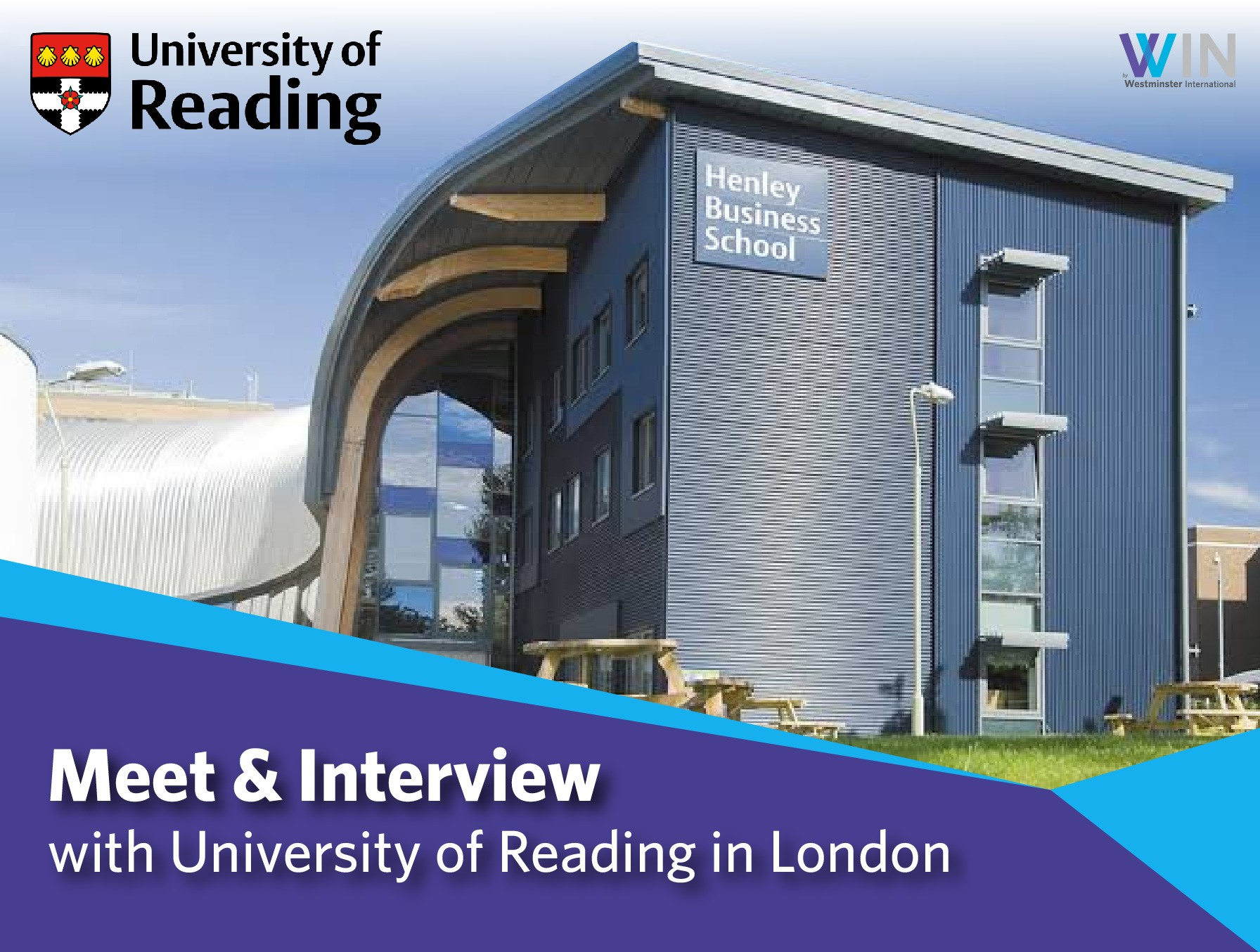 Meet & Interview with University of Reading in London