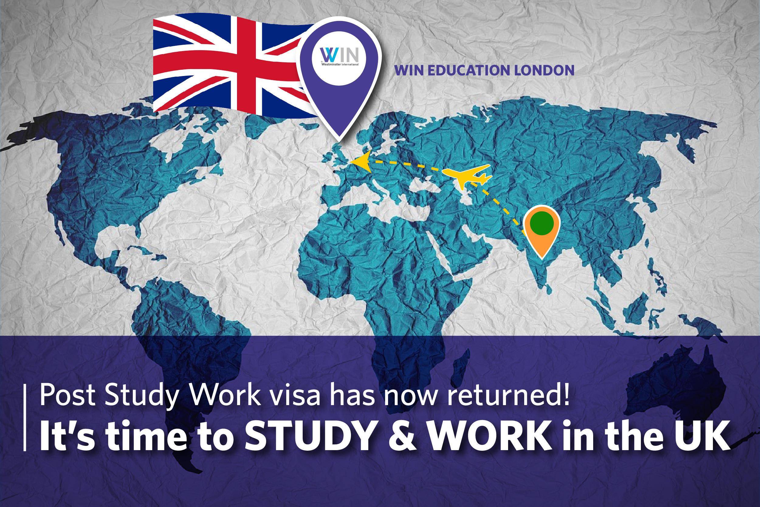 Post Study Work visa has now returned! It's time to STUDY & WORK in the UK